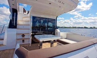 58' Galeon - Palm Beach Yacht Rental