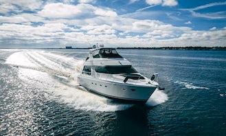 75' Numarine - Palm Beach Yacht Rental