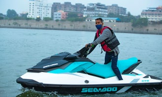 Blue Seadoo Jetski Rental in Ahmedabad