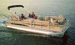 Luxurious 24' Pontoon Boat for 14 in Kemah.Tx.