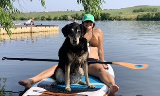 SUP Paddleboard Lake Lanier at West Bank Park Beach! (Pickup or Delivery!) Dog Friendly Paddle Board