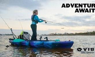 Allatoona Lake Sit On Top Kayak Perfect for Fishing and Anglers
