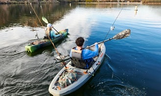 Lake Lanier at West Bank Fishing Sit On Top Kayak (Pickup & Delivery Available!)