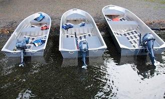 F-1 Tracker Guide 14 V-Bottom Fishing Boat for Rent in Seabrook