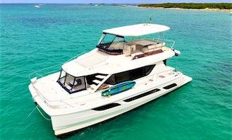 Aquila 48' Power Catamaran Luxury Yacht | Icacos, Palominos | 4 Hours & 7 Hours