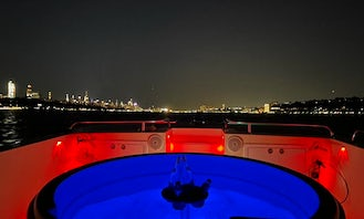 Throw A HOT TUB PARTY on the HUDSON !