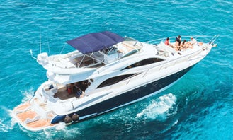 Sea Ray 60ft Yacht for Charter in Quintana Roo