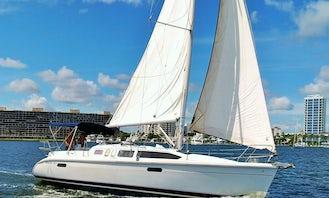 Hunter 336 Sailboat! Learn to Sail & Cruise in Palm Beach