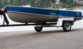 Meet Mi-D Aa - 13ft Fishing Boat Gas/Electric Motor or Rowing