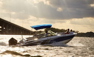 Rent Brand New 2021 Monterey M225 Powerboat in Miami, Florida!- We have TWO IDENTICAL BOATS- See pictures-