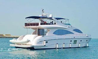 85ft Majesty Power Mega Yacht in Dubai