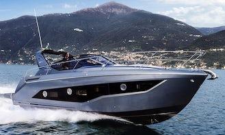 2018 Cranchi Z35 Luxury Yacht Cruise in Castellammare di Stabia