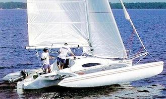 Sail Corsair F24 Trimaran in Vancouver, WA
