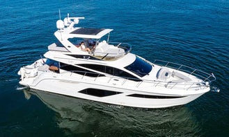 """""""Islander"""" 55' Searay L550 Fly Yacht for Charter in North Palm Beach"""