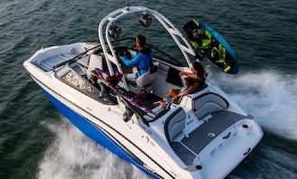 *All In One* New 2021  Yamaha Jet Boat !! Tubing & Family Fun Boat in Tampa, Tarpon Springs, Dunedin, Clearwater, Saint Petersburg