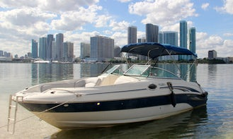Enjoy 5 IDENTICAL 26' Sea Ray Sundeck in Miami! ALWAYS AVAILABLE! (1 hour free mon-thurs)