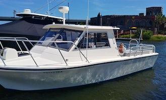 Island Hopper 30ft Motor Yacht for Large Groups in Charleston!!
