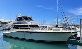 60' Hatteras Luxury Power Yacht in Honolulu, Hawaii