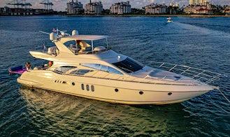 🔥 65ft Azimut || Courtesy Bottle of Champagne on board ||