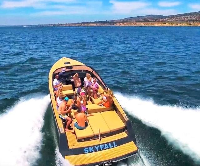 Designer Ultra Luxury Yacht in California