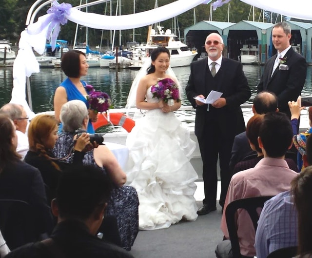 Yacht Wedding in Vancouver