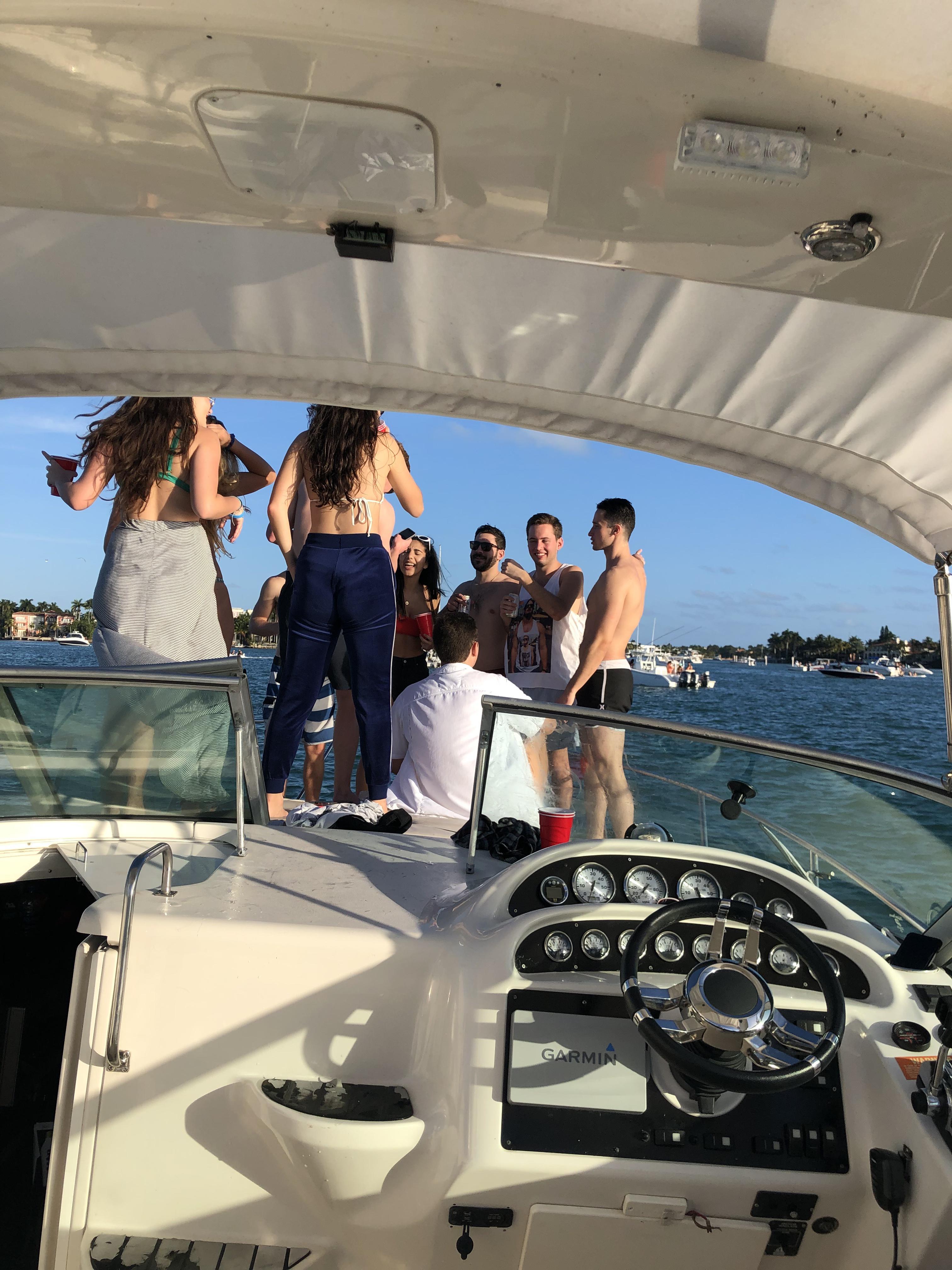 "Cruiser 33"" Yacht and jetski rental in Miami | GetMyBoat"
