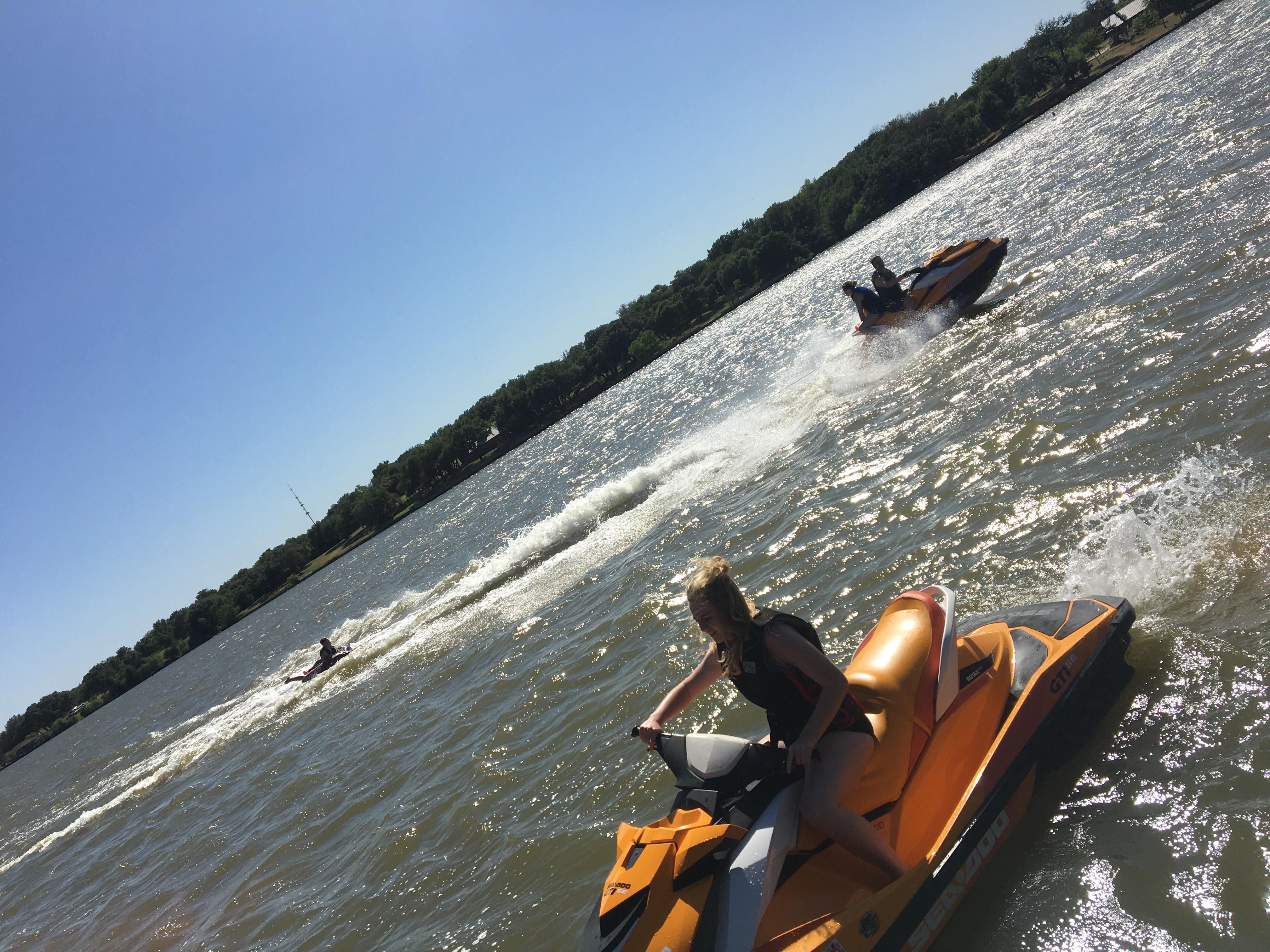 Enjoy a pair of SeaDoo pwc on Lake Granbury for the day ...